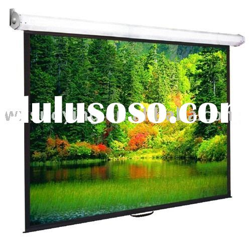 Manual Pull down Projection Screen