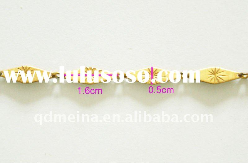 MeiNa fashion garment metal accessories brass decorative chain