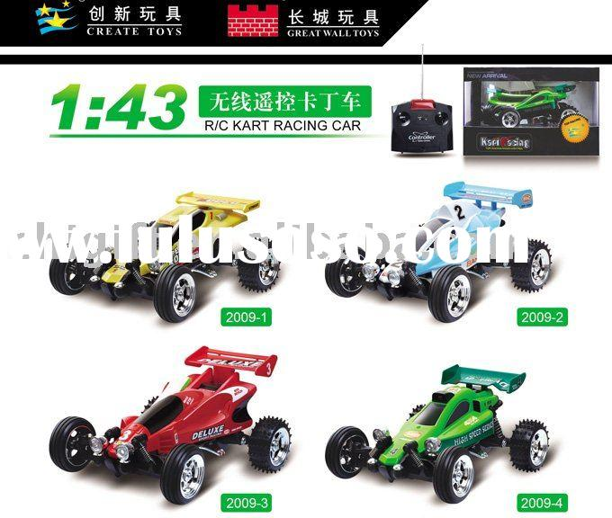Mini Buggy 1:43 Scale Electric RTR RC Car (Race 4 at a time)