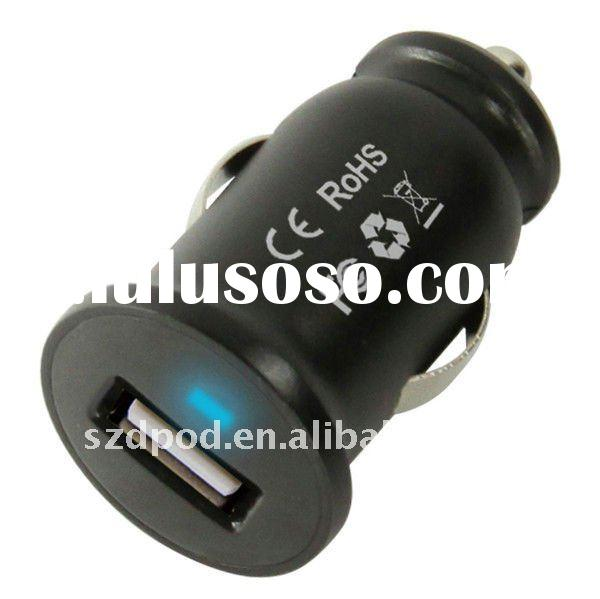 Mini USB Car Charger Vehicle Power Adapter for Apple iPhone 4/ipad