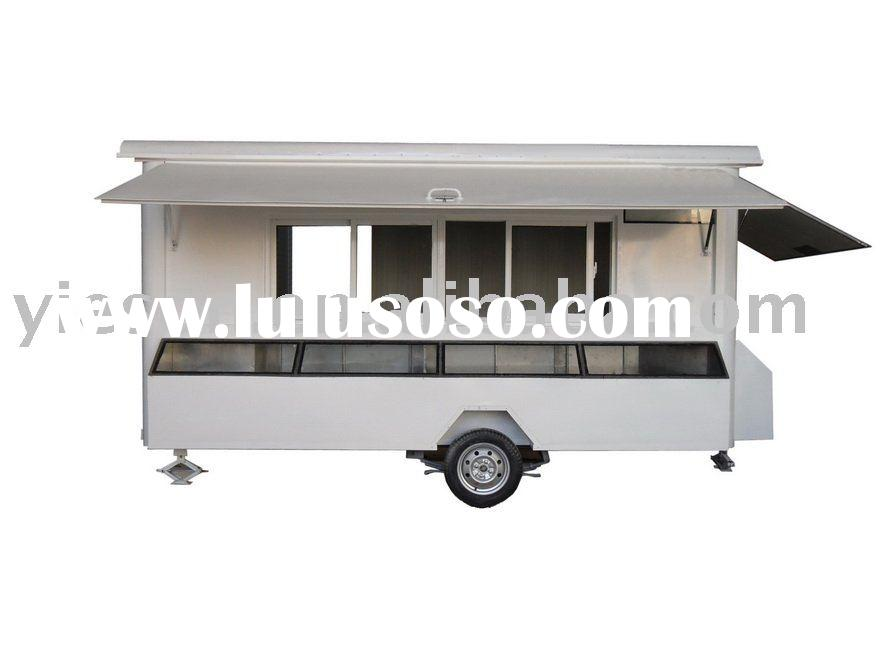 Mobile Food Vending Carts