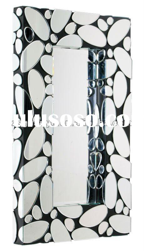 Modern design fancy art deco wall mirror