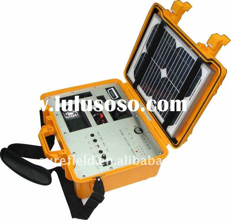 Multifunctional Portable Solar Power Kit