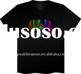 Musical flashing LED t-shirt for Christmas/New year party