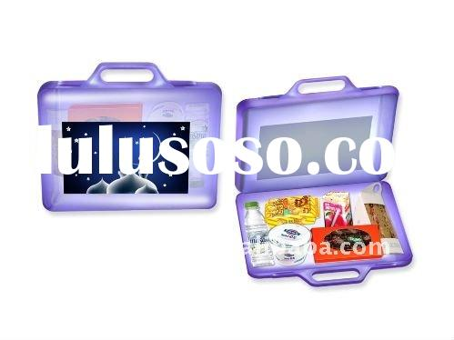 New Plastic Food Container/plastic box with handle