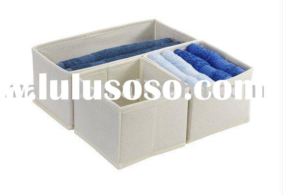 Non Woven Foldable Storage Case / Storage Boxes & Bins / Folding Underbed Clothes Organizer / Be