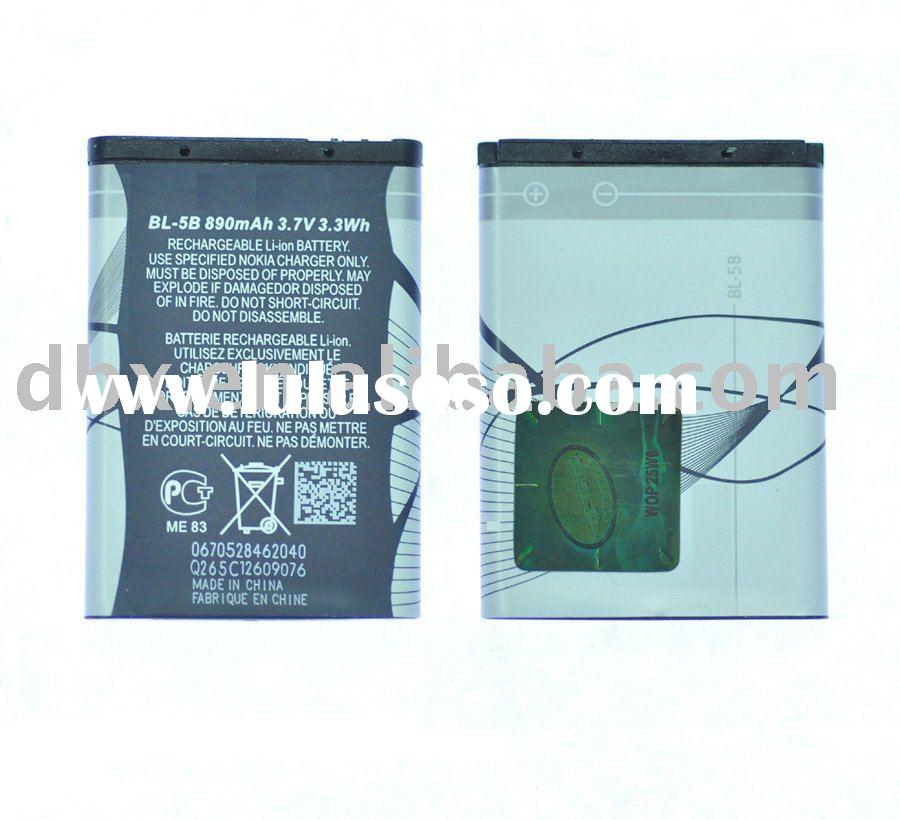 OEM cell phone batter for Nokia BL-5B