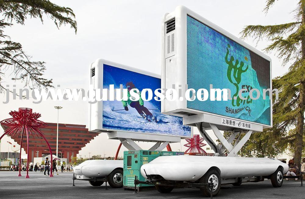 OMDM LED Advertising Vehicles with lifting system, windproof system