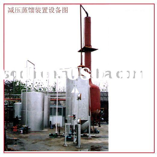 Oil purify Vacuum Distillation Device