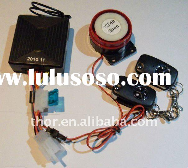 One Way Motorcycle alarm system with Blank Key MF304