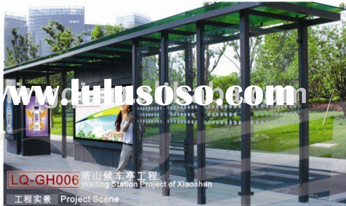 Outdoor Bus stop shelter light box