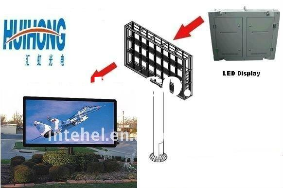 P16 Outdoor Full Color LED Video Wall for Advertising