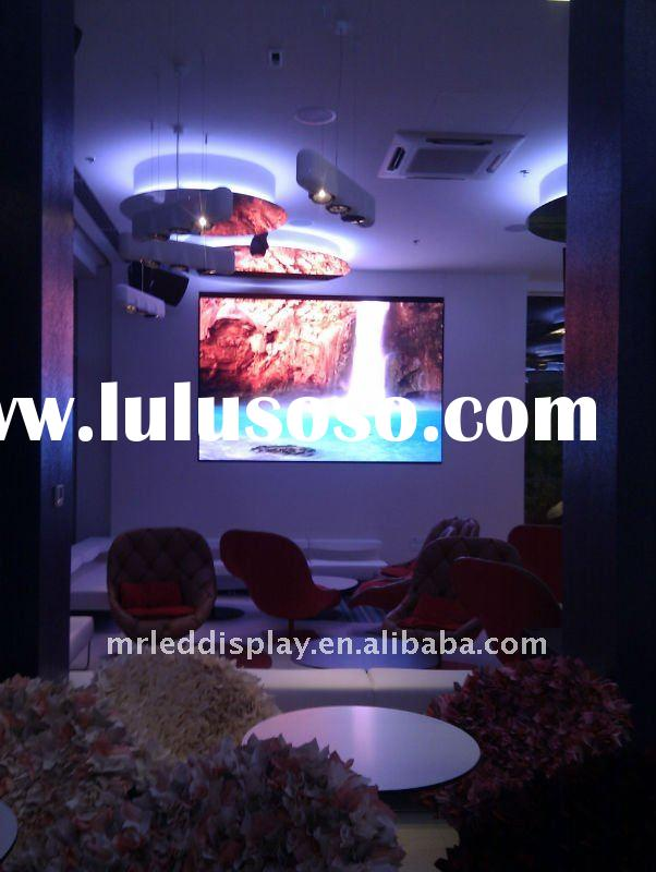 P4 indoor smd full color advertising led video wall