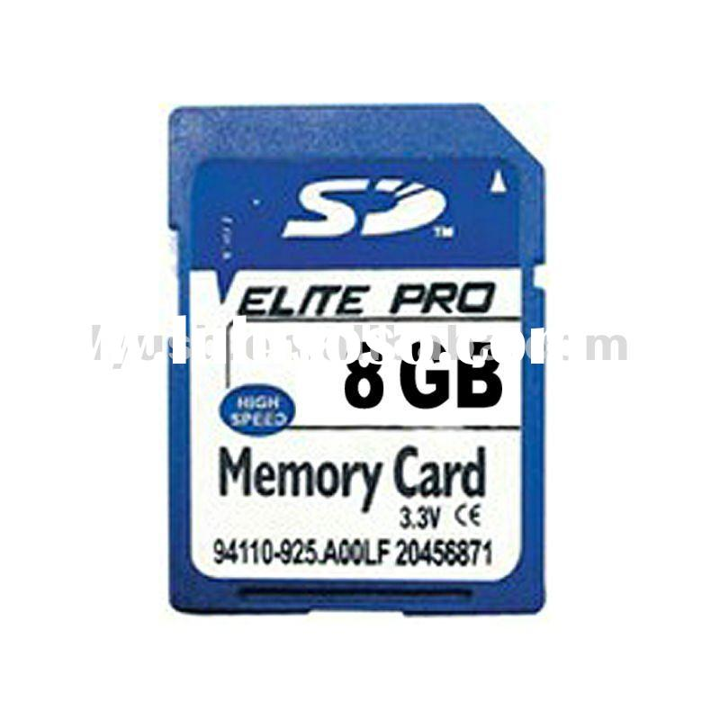 PASS H2 Test Software 1-64GB Memory Card SDHC with Factory Price ;Custom Logo Printed SD Card with H