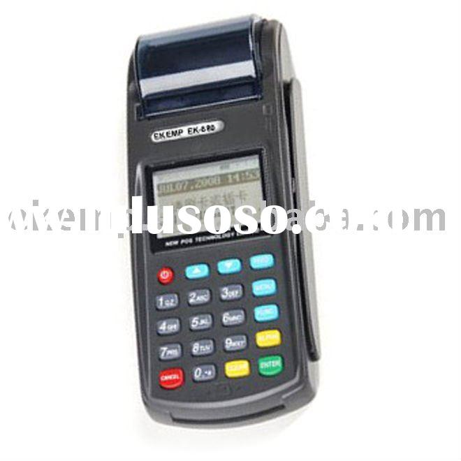 PCI,EMV certified Mobile payment terminal supports credit/debt card reader(N8110)
