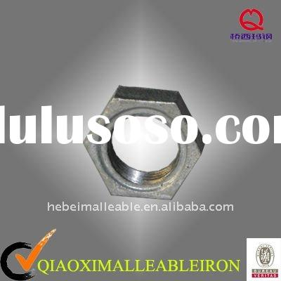 PIPE FITTING MALLEABLE IRON PIPE FITTING NUT