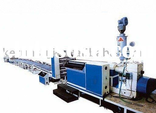 PP/PE/ABS/PMMA/PC/PS/HIPS Plastic Plate/Sheet/Board Extrusion Line, plastic sheet production line, p
