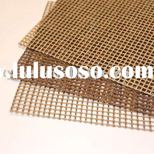 PTFE coated fiberglass mesh fabric/ cloth - used for cooking food and mesh conveyor belt