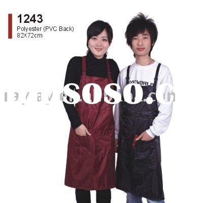 PVC hair stylist salon apron
