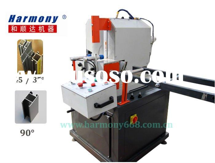 PVC profile cutting machine for window and door with 45/90/135 angle