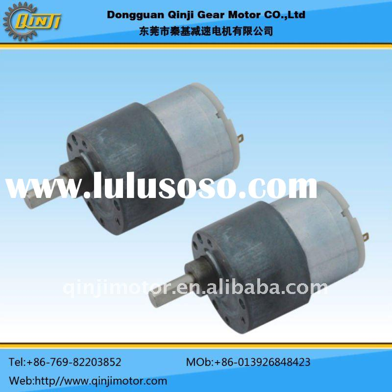 Permanent magnet brush DC Gear Motor,24v gear motor,180rpm