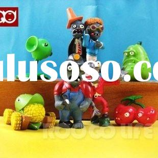 Plants Vs Zombies Action Figures 8pcs/set PVZ Toys