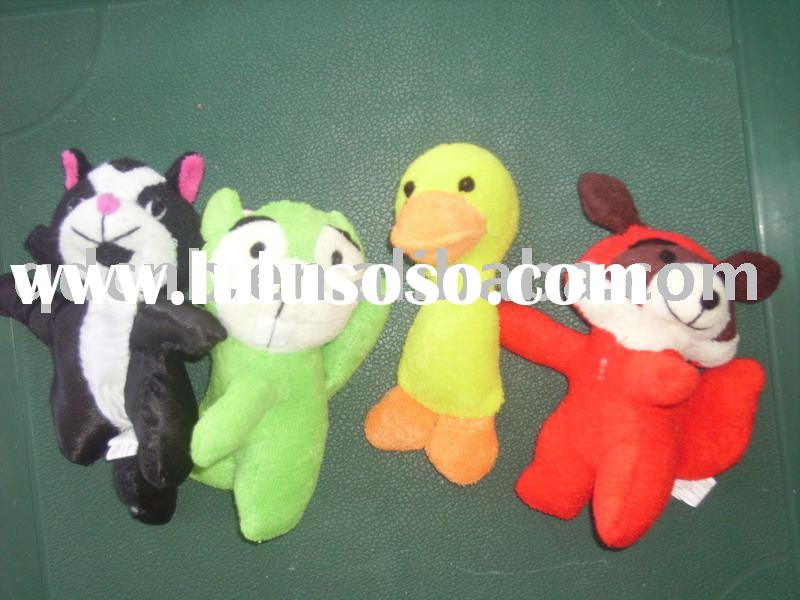 Plush Cat Monkey Duck Fox Plush Cat Monkey Duck Fox Keychain Mini Plush Cat Monkey Duck Fox Keyring