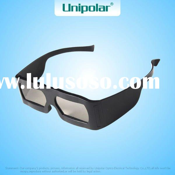 Polarized Plastic 3D Glasses For Movie