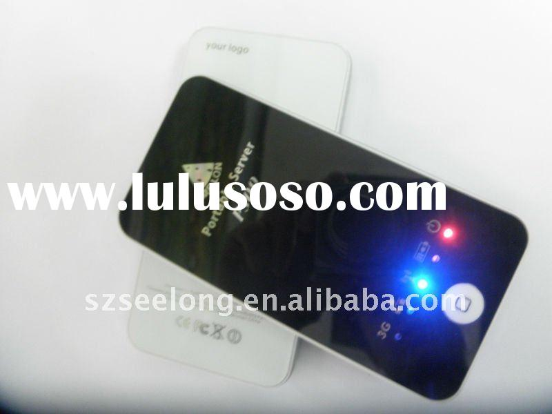 Portable 3G Wifi Router Server For Apple iOS Device iPad iPhone iTouch Etc
