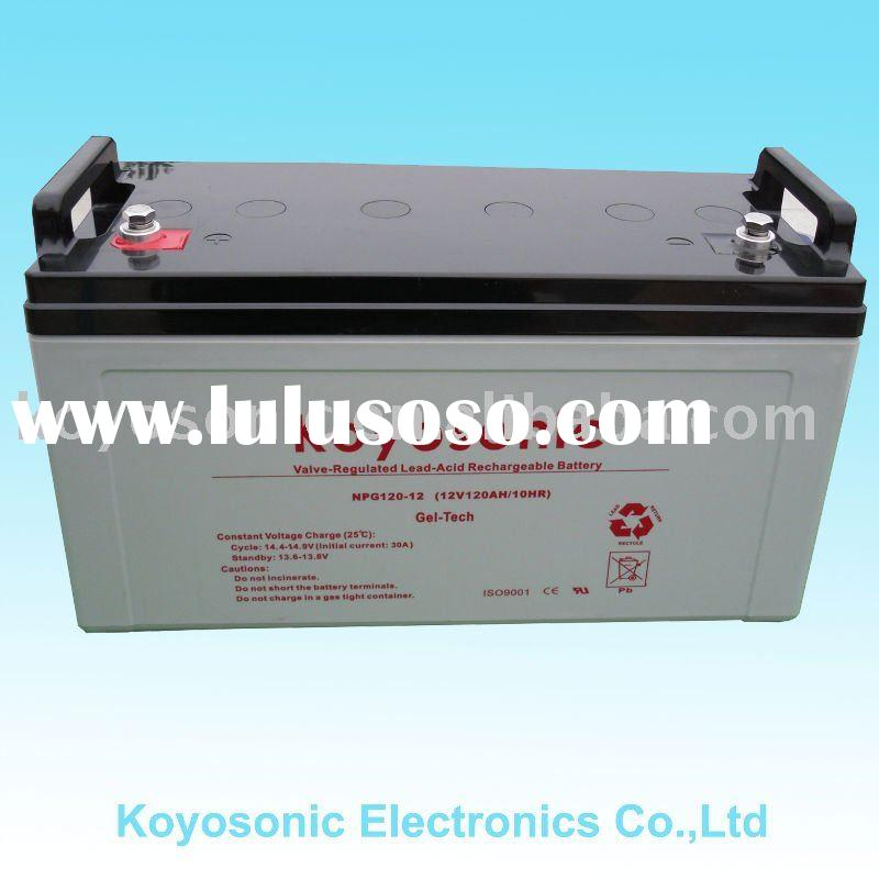 Professionally Produce And Export VRLA AGM Sealed Lead Acid Gel Battery-12V120AH-NPG120-12