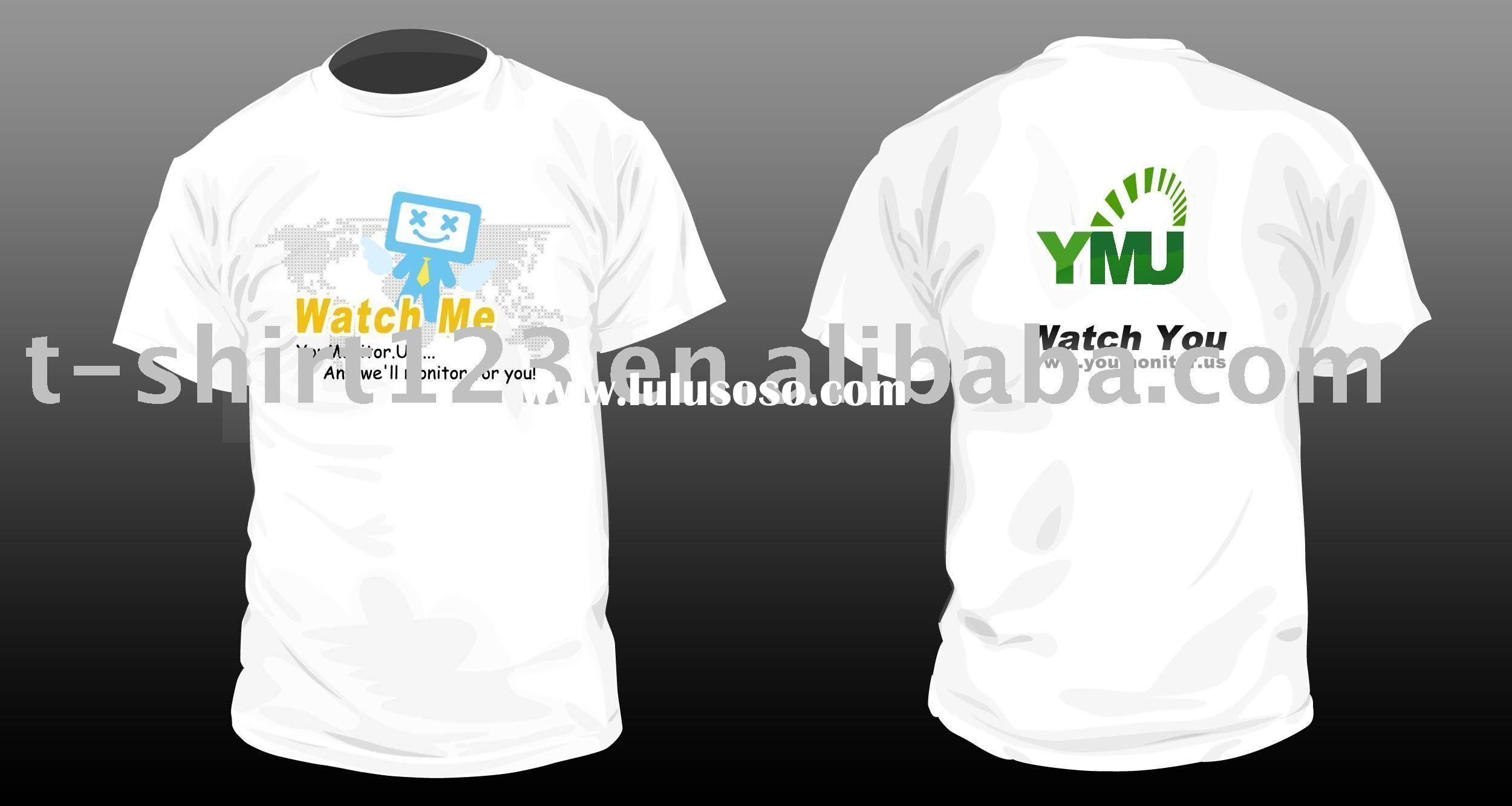 Promotional t shirt printing promotional t shirt printing for Plain t shirt supplier malaysia