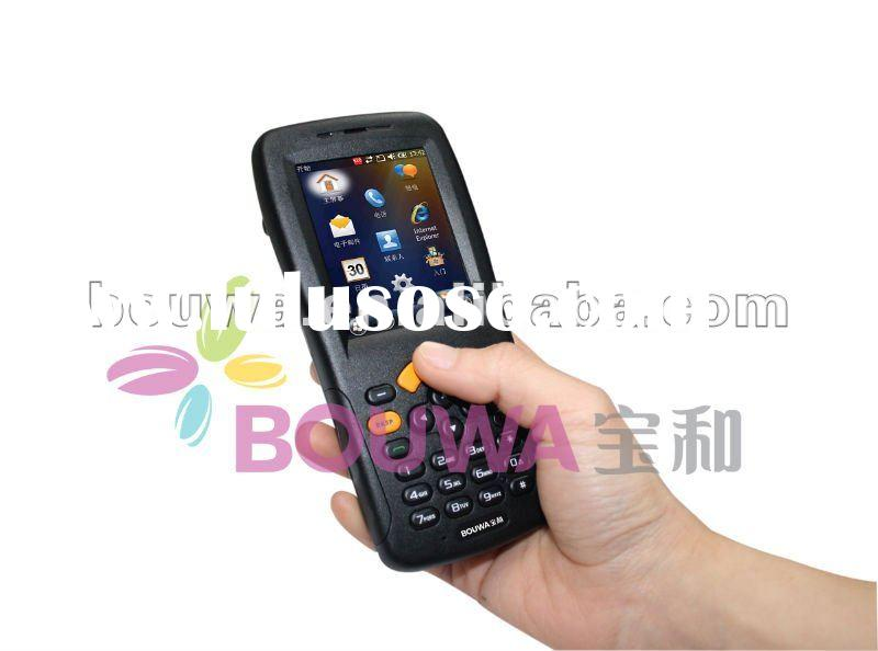 QR code reader/2D barcode scanner/industrial PDA with GPS 3G