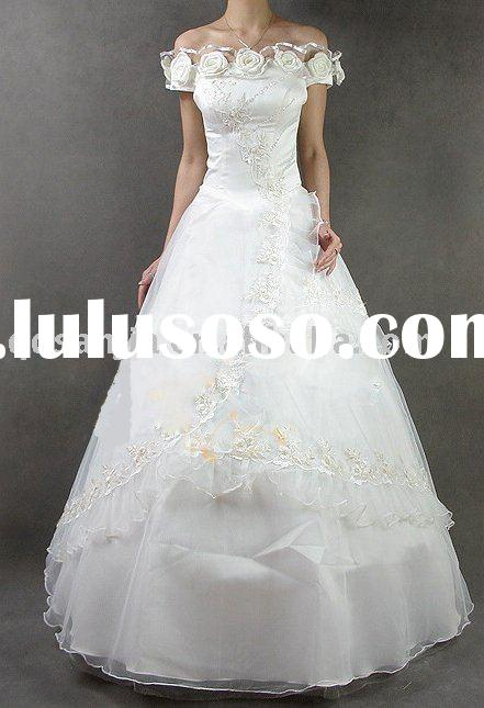 RM04.Custom-Made bridal wedding dress,wedding gown,bridal gown ,bridal veil