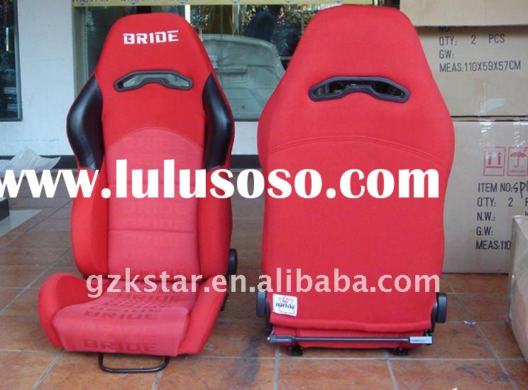 Reclinable Red Gradation Bride Drapery Racing Seat/ Adjustable Red Gradation Bride Drapery Sport Car