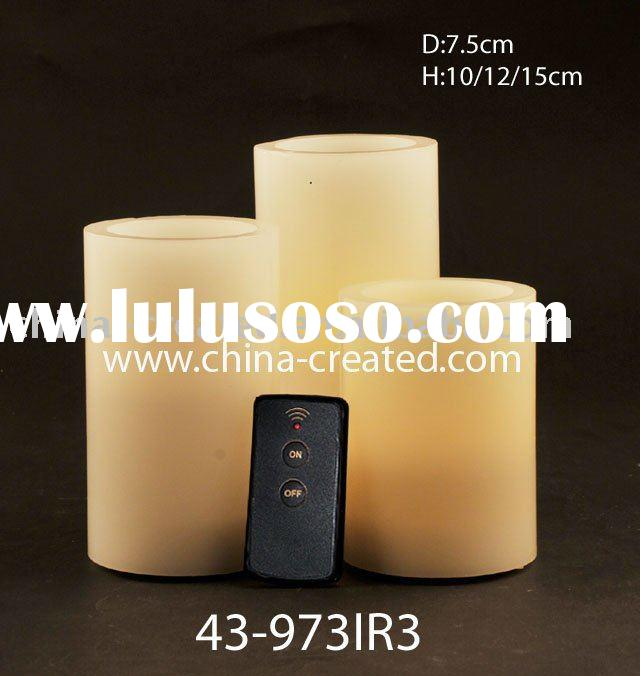 Remote Control LED Candle Set