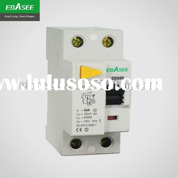 Residual current circuit breaker RCCB