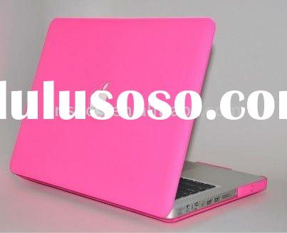 Rubberized HOT PINK Hard Case Cover for Macbook PRO 13
