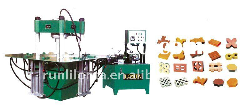 SY7502 interlocking paving concrete block making machine