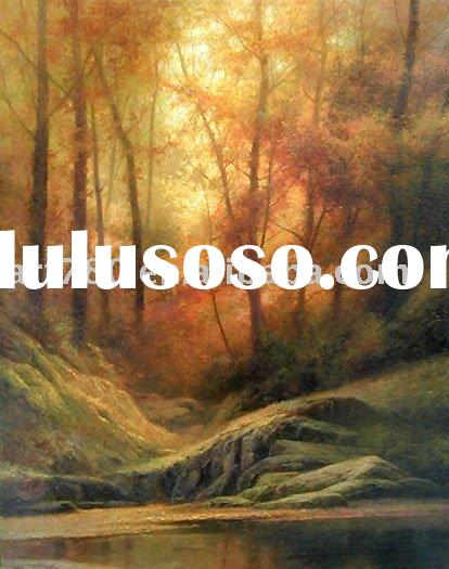 Scenery oil painting,Canvas art
