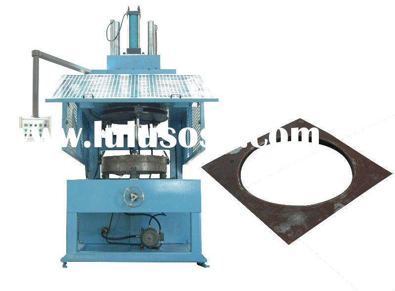Sheet metal spinning machine