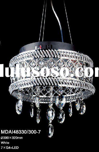 Simple Modern Crystal decorative Pendant Chandelier light,MDAI48330-300-7, Beauty and Elegant