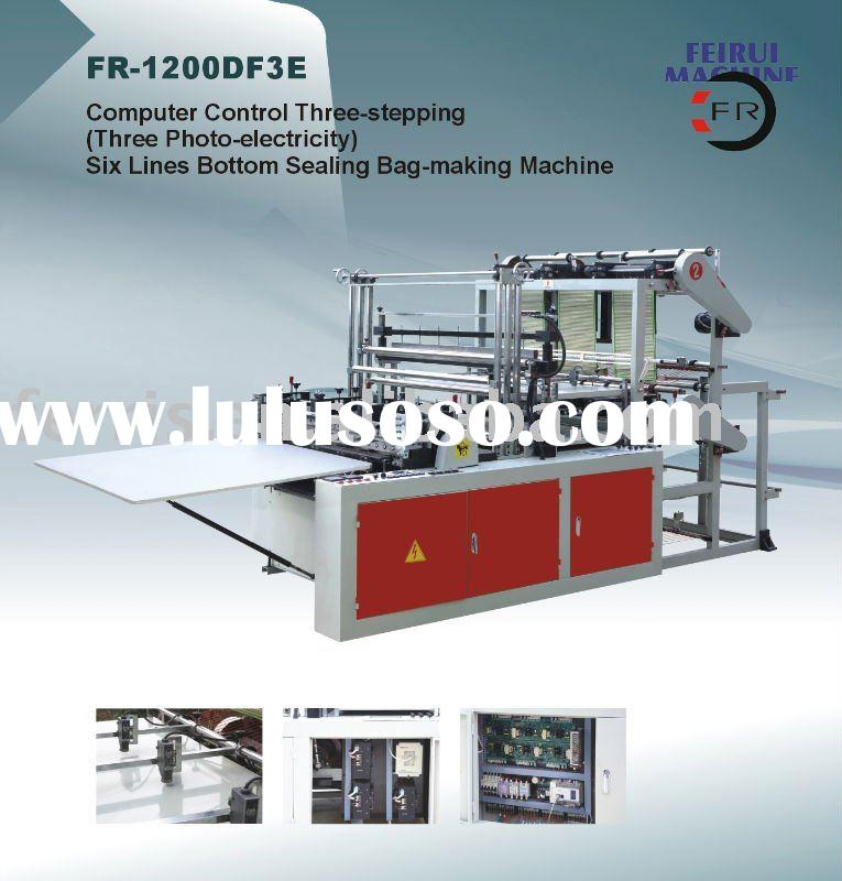 Six line HDPE Bag Making Machine (with 3 photocell)