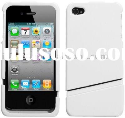 Slash Dockable Case and Screen Protector for Apple iPhone 4 (White)