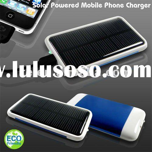 Solar Powered Mobile Phone Charger,ECO Friendly