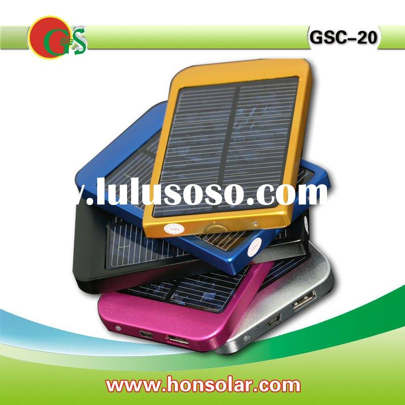 Solar charger for mobile phone like Nokia, samsung, iPhone and blackberry.