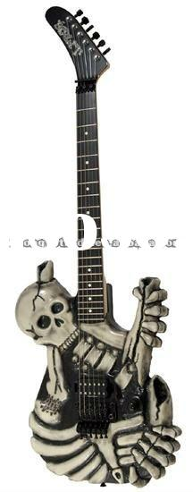 Special Brand Left-hand Electric Skeleton Guitar (MG-02)