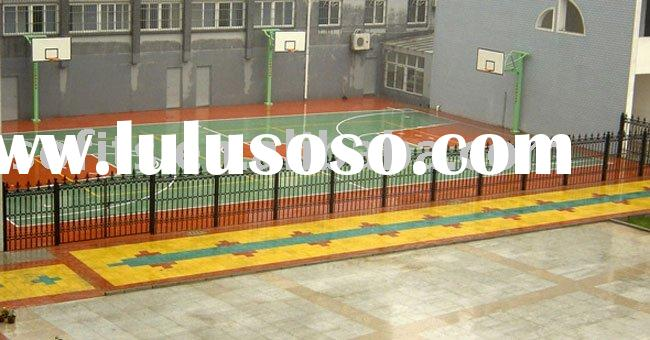 Sports Equipment,Polyurethane Basketball Court,PVC Roll Flooring Wood Veins For Basketball Venues