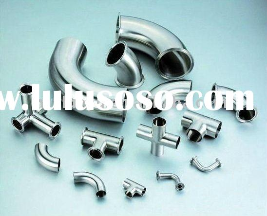 Stainless Steel Hydraulic Pipe Fittings Food Grade Sanitary