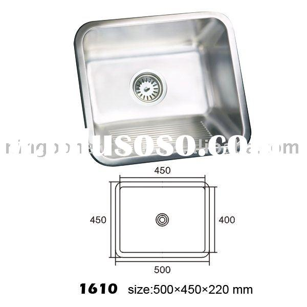 Stainless Steel Industrial Kitchen Sink