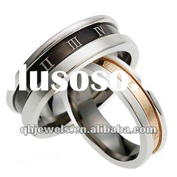 Stainless steel designer rings for men and women
